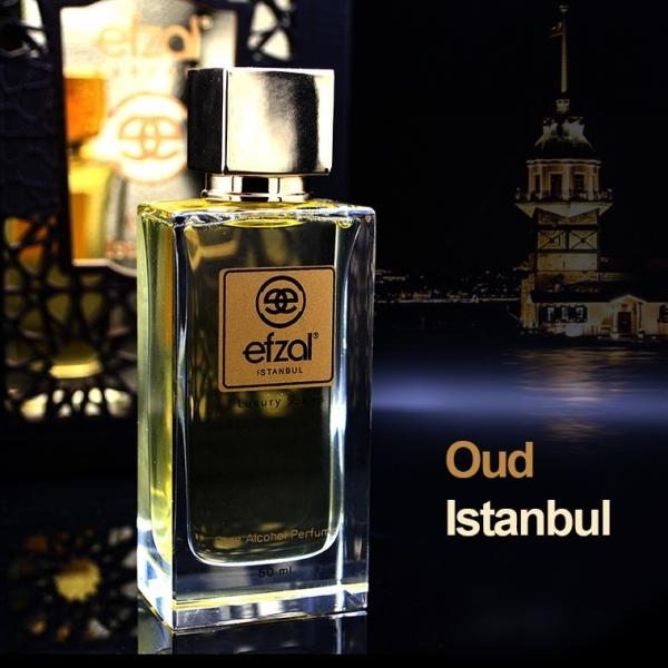 Efzal Oud Istanbul 50 ml Alkolsüz Parfüm